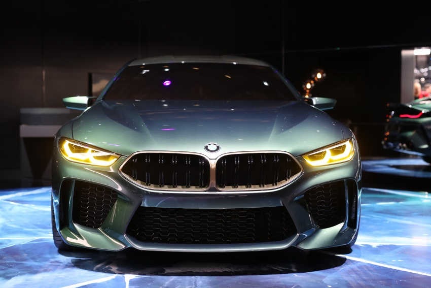 BMW Concept M8 Gran Coupe previews new four-door Image #787936