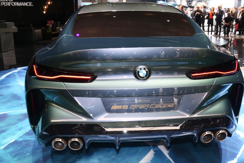 BMW Concept M8 Gran Coupe previews new four-door Image #787937