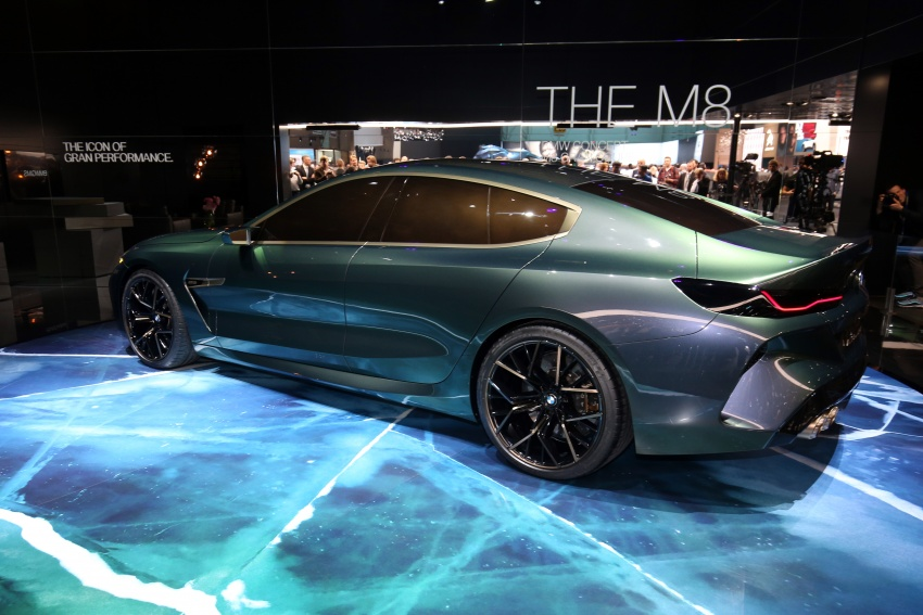 BMW Concept M8 Gran Coupe previews new four-door Image #787938