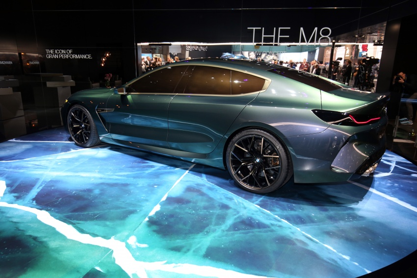 BMW Concept M8 Gran Coupe previews new four-door Image #787939