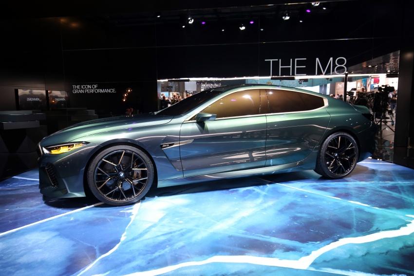 BMW Concept M8 Gran Coupe previews new four-door Image #787941