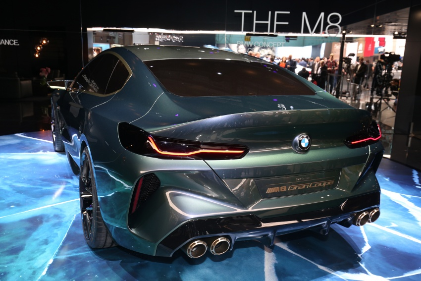 BMW Concept M8 Gran Coupe previews new four-door Image #787923