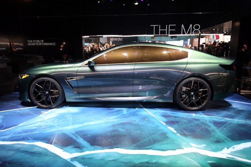 BMW Concept M8 Gran Coupe previews new four-door Image #787927