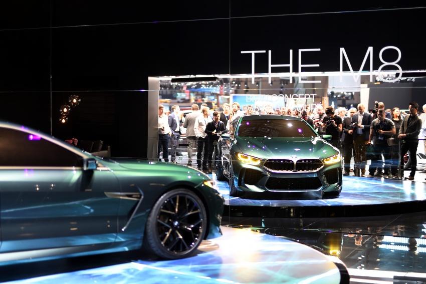 BMW Concept M8 Gran Coupe previews new four-door Image #787928