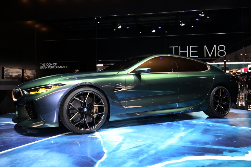 BMW Concept M8 Gran Coupe previews new four-door Image #787929