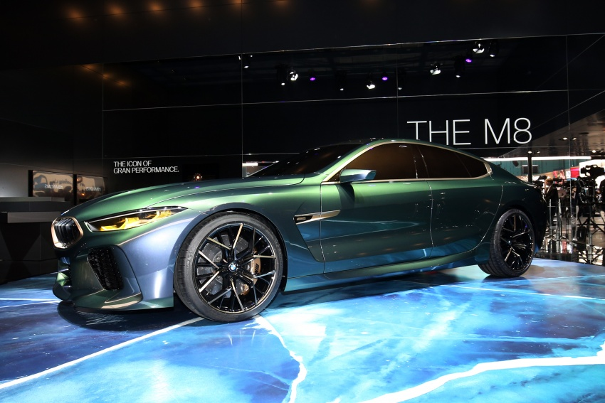 BMW Concept M8 Gran Coupe previews new four-door Image #787930