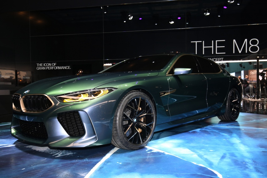 BMW Concept M8 Gran Coupe previews new four-door Image #787931