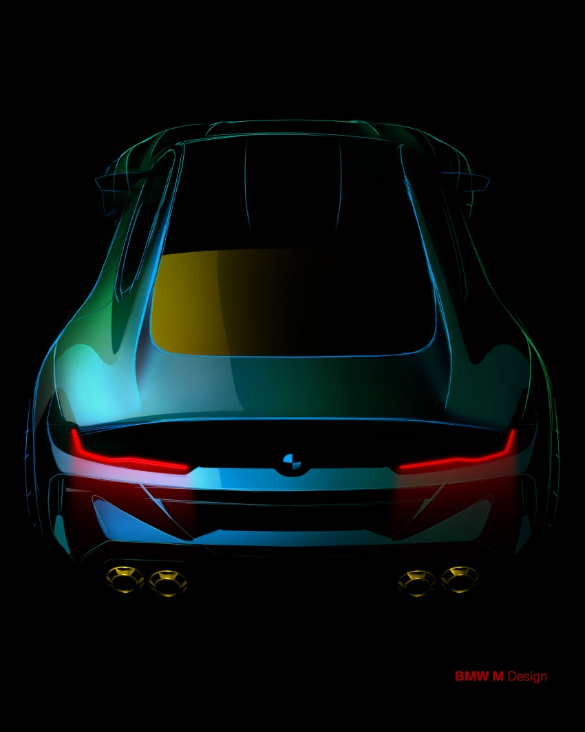 BMW Concept M8 Gran Coupe previews new four-door Image #787112