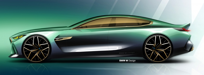 BMW Concept M8 Gran Coupe previews new four-door Image #787113