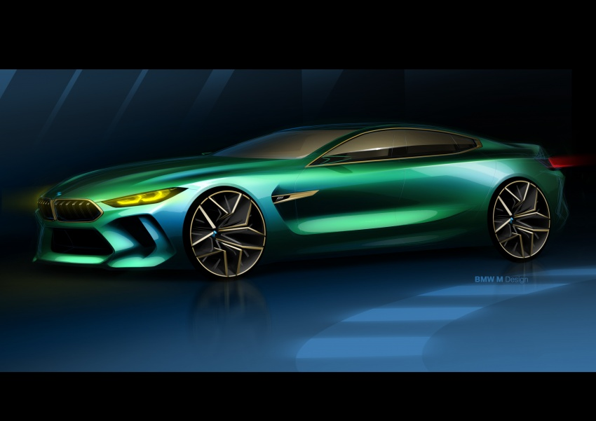 BMW Concept M8 Gran Coupe previews new four-door Image #787111