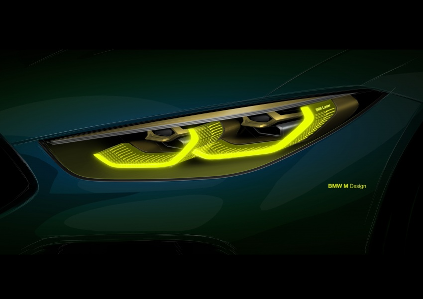 BMW Concept M8 Gran Coupe previews new four-door Image #787115