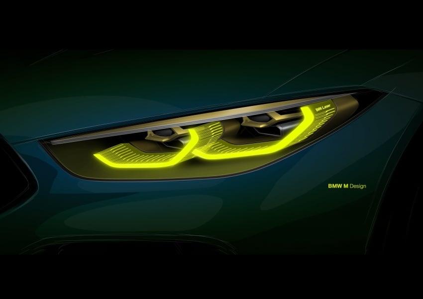 BMW Concept M8 Gran Coupe previews new four-door Image #787115