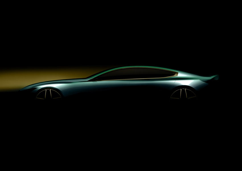 BMW Concept M8 Gran Coupe previews new four-door Image #787116
