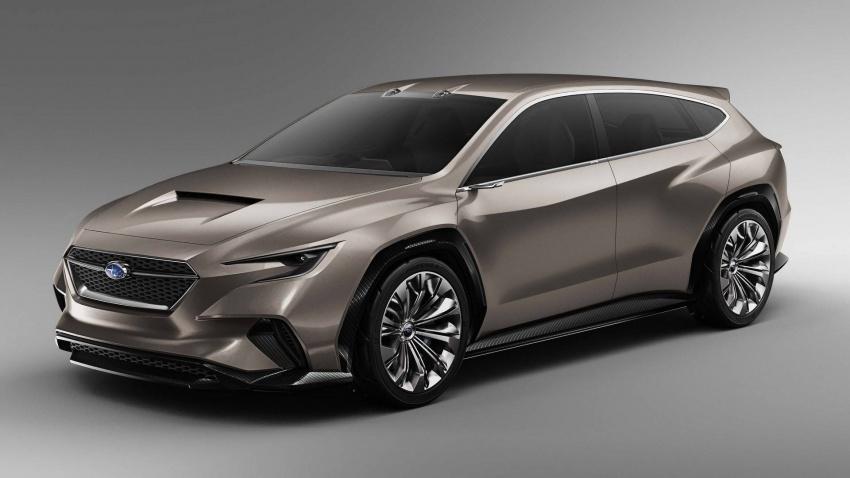 Subaru Viziv Tourer Concept didedahkan di Geneva 2018 – WRX wagon bakal kembali semula ke pasaran? Image #787292