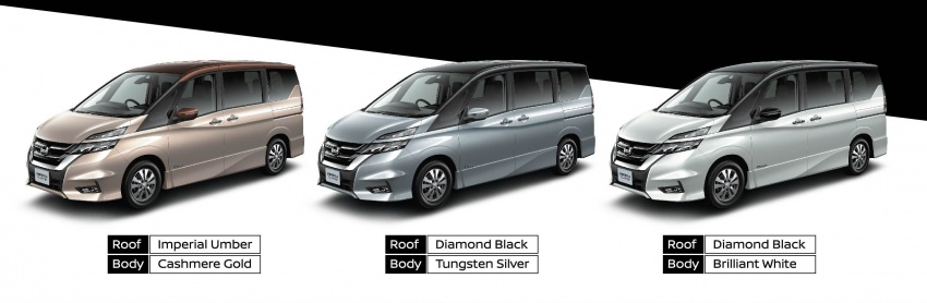 2018 Nissan Serena S-Hybrid full specs – Highway Star and Premium Highway Star, from under RM140k est Image #806464