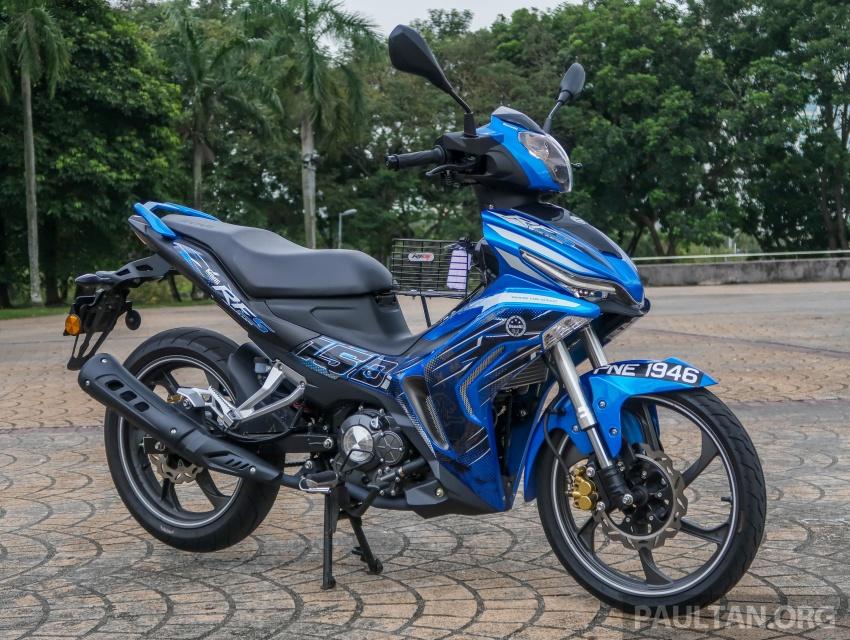 SYM VF3i vs Yamaha Y15ZR, Honda RS150R, Benelli RFS150i – latest 'supercub' takes on the establishment Image #808389