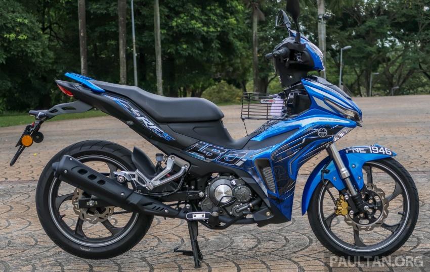 SYM VF3i vs Yamaha Y15ZR, Honda RS150R, Benelli RFS150i – latest 'supercub' takes on the establishment Image #808392