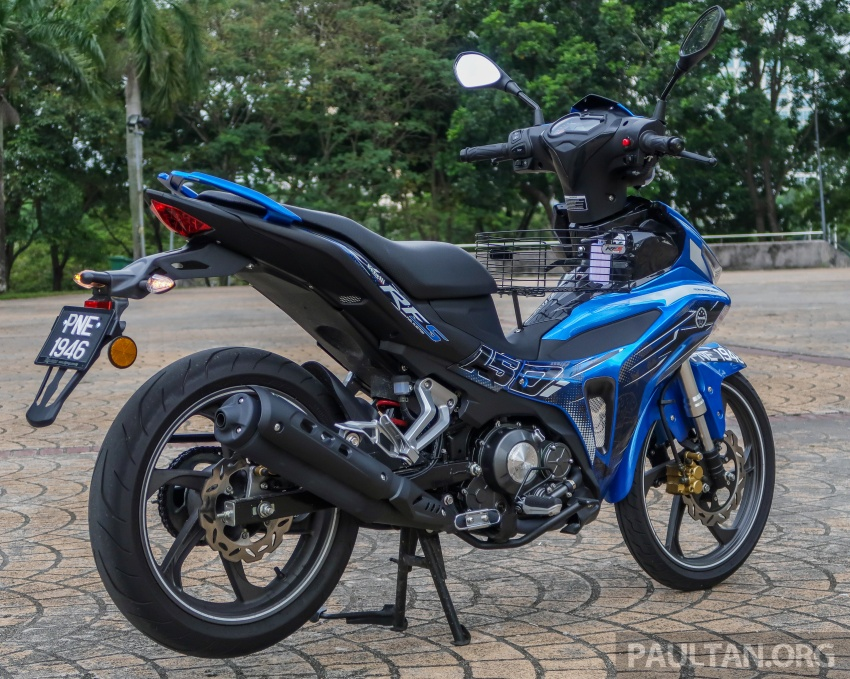 SYM VF3i vs Yamaha Y15ZR, Honda RS150R, Benelli RFS150i – latest 'supercub' takes on the establishment Image #808383