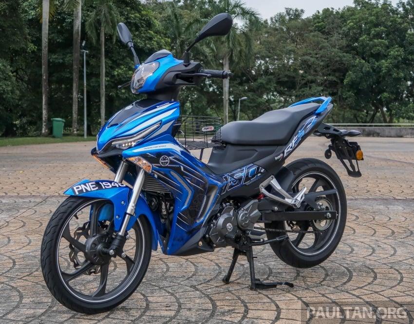 SYM VF3i vs Yamaha Y15ZR, Honda RS150R, Benelli RFS150i – latest 'supercub' takes on the establishment Image #808385