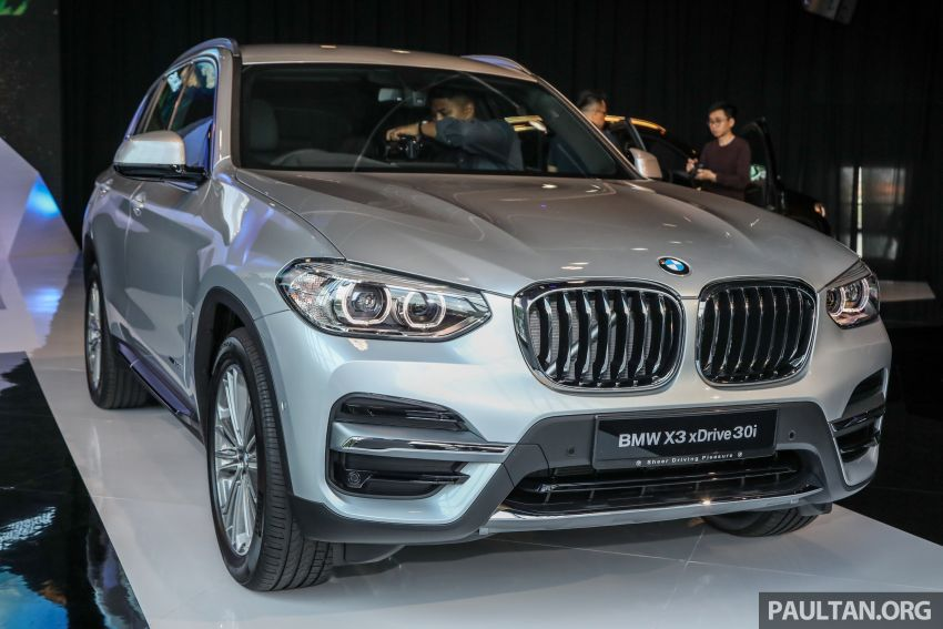 G01 BMW X3 launched in M'sia – 30i Luxury, RM314k Image #809256