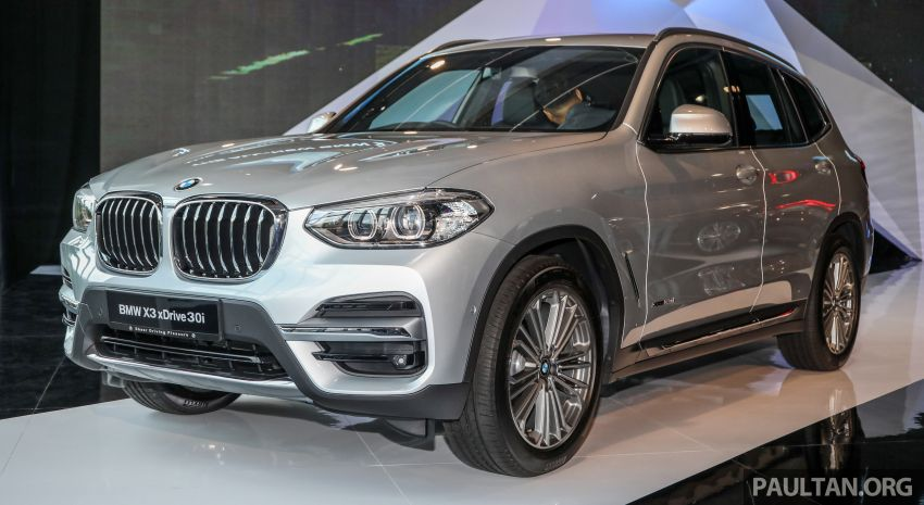 G01 BMW X3 launched in M'sia – 30i Luxury, RM314k Image #809258