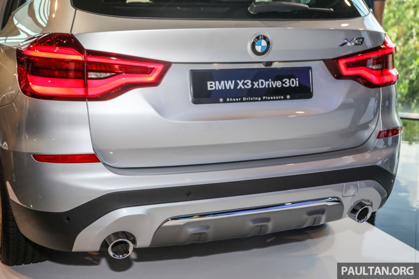 G01 BMW X3 launched in M'sia – 30i Luxury, RM314k Image #809293