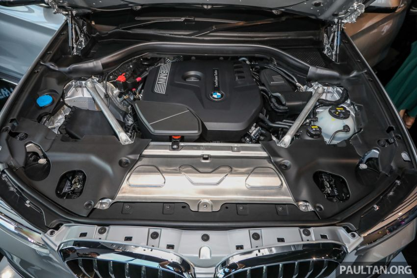 G01 BMW X3 launched in M'sia – 30i Luxury, RM314k Image #809303