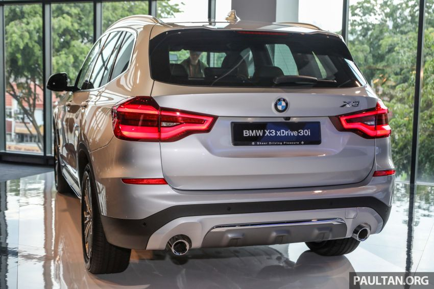 G01 BMW X3 launched in M'sia – 30i Luxury, RM320k Image #809262