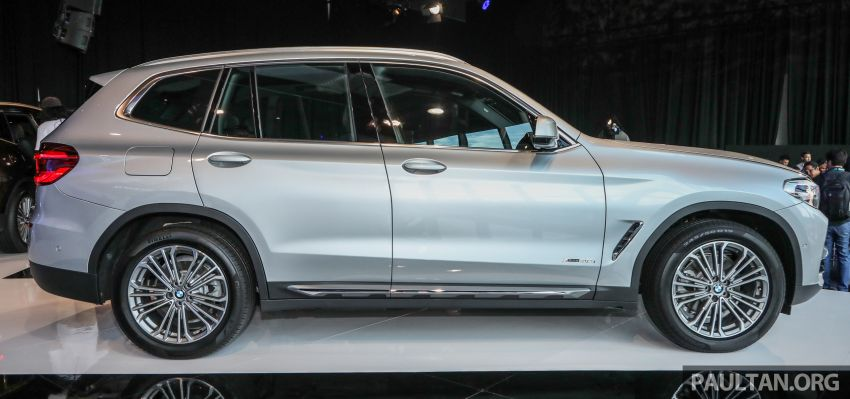 G01 BMW X3 launched in M'sia – 30i Luxury, RM314k Image #809264