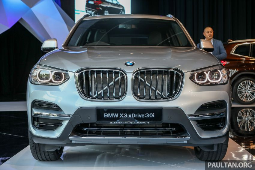 G01 BMW X3 launched in M'sia – 30i Luxury, RM314k Image #809265