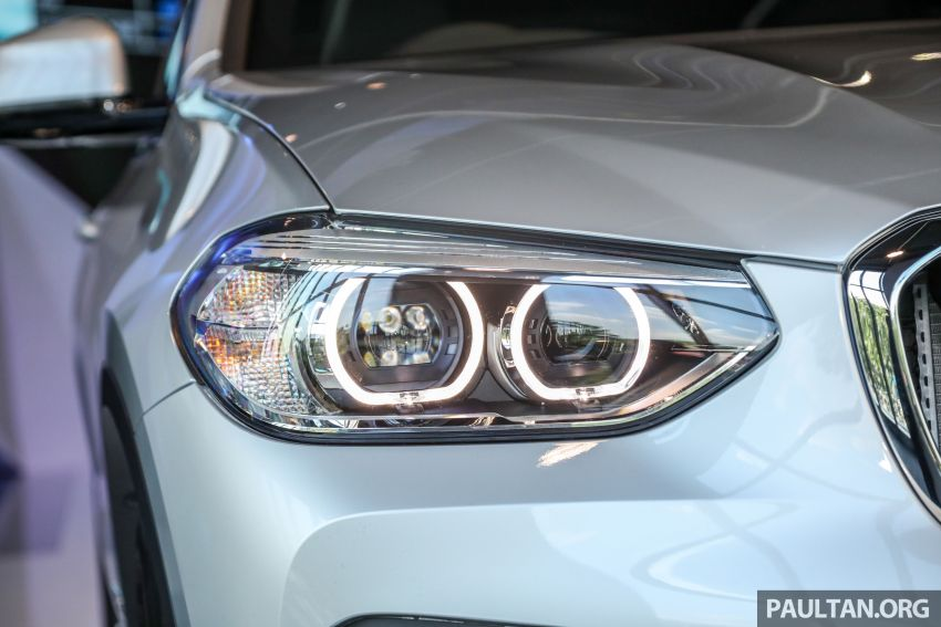 G01 BMW X3 launched in M'sia – 30i Luxury, RM314k Image #809271