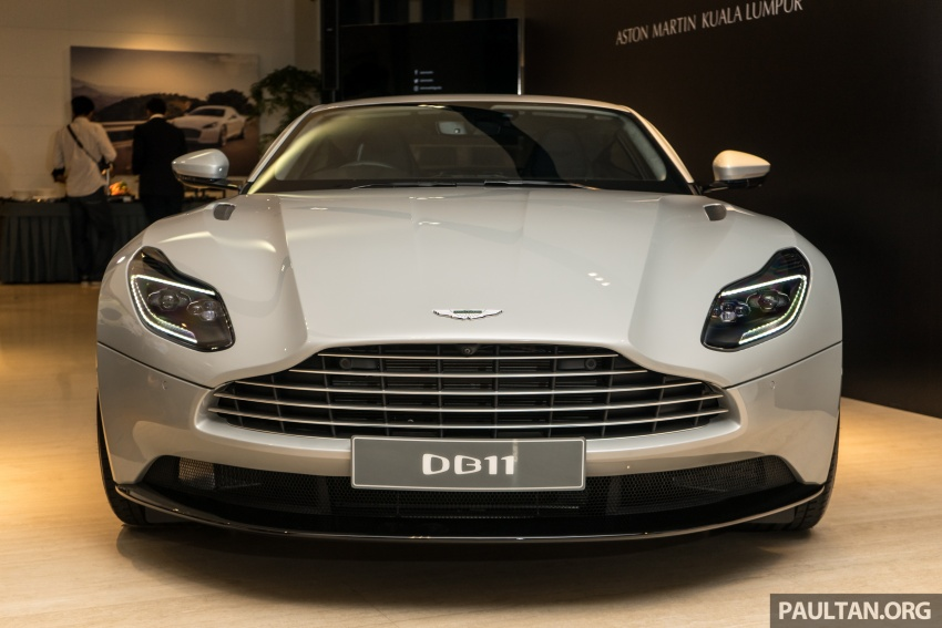 Aston Martin DB11 V8 officially launched in Malaysia – AMG-sourced engine with 510 PS, from RM1.8 million Image #805974