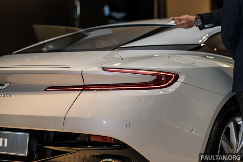 Aston Martin DB11 V8 officially launched in Malaysia – AMG-sourced engine with 510 PS, from RM1.8 million Image #805987