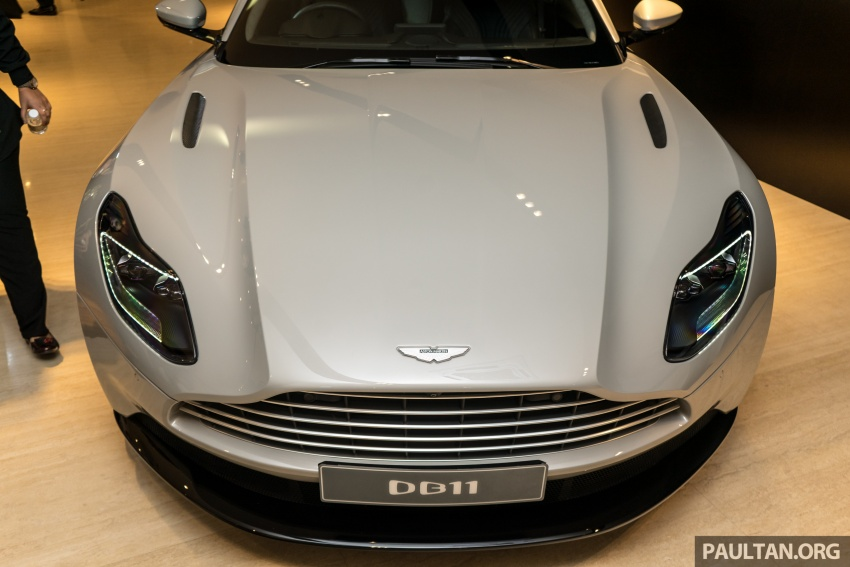 Aston Martin DB11 V8 officially launched in Malaysia – AMG-sourced engine with 510 PS, from RM1.8 million Image #805975