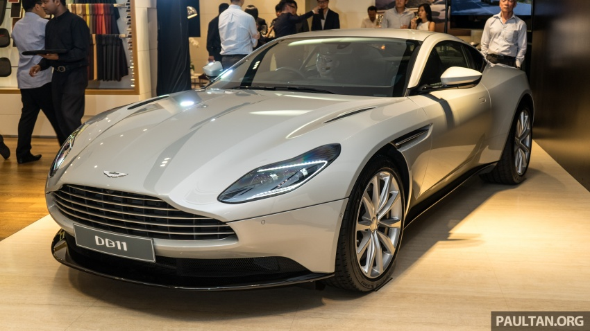 Aston Martin DB11 V8 officially launched in Malaysia – AMG-sourced engine with 510 PS, from RM1.8 million Image #805976