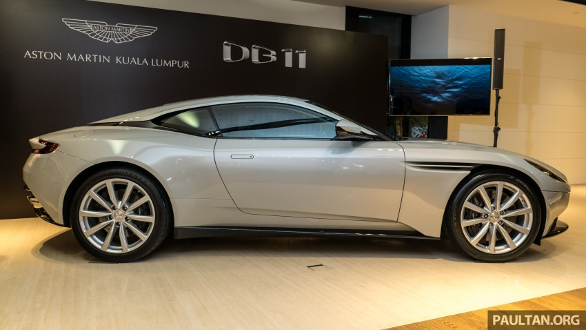 Aston Martin DB11 V8 officially launched in Malaysia – AMG-sourced engine with 510 PS, from RM1.8 million Image #805977