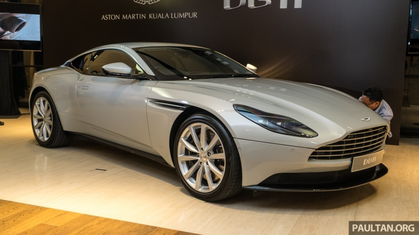 Aston Martin DB11 V8 officially launched in Malaysia – AMG-sourced engine with 510 PS, from RM1.8 million Image #805978