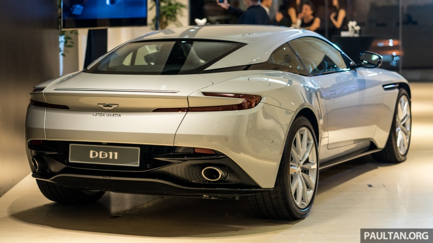 Aston Martin DB11 V8 officially launched in Malaysia – AMG-sourced engine with 510 PS, from RM1.8 million Image #805979