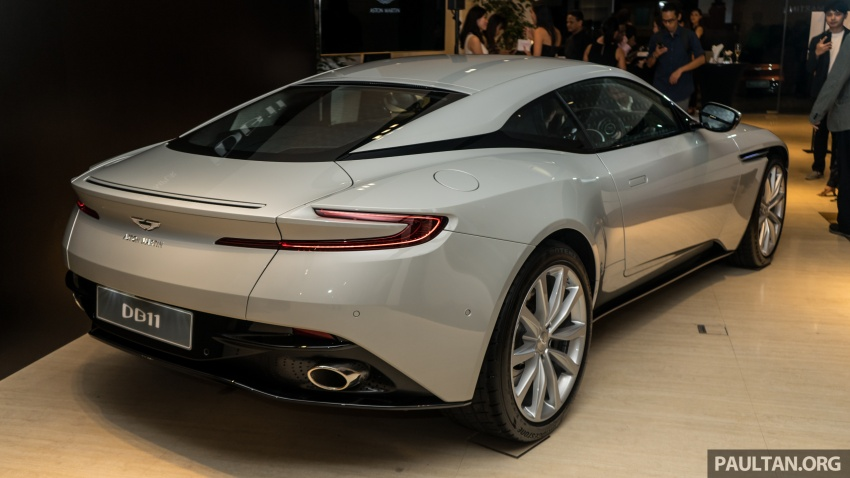 Aston Martin DB11 V8 officially launched in Malaysia – AMG-sourced engine with 510 PS, from RM1.8 million Image #805980