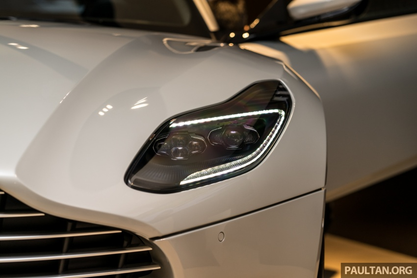 Aston Martin DB11 V8 officially launched in Malaysia – AMG-sourced engine with 510 PS, from RM1.8 million Image #805983