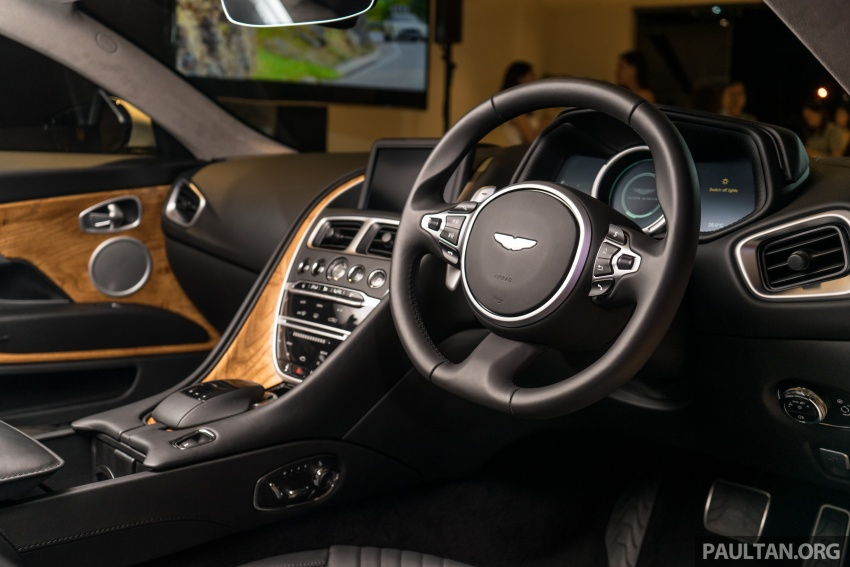Aston Martin DB11 V8 officially launched in Malaysia – AMG-sourced engine with 510 PS, from RM1.8 million Image #805996