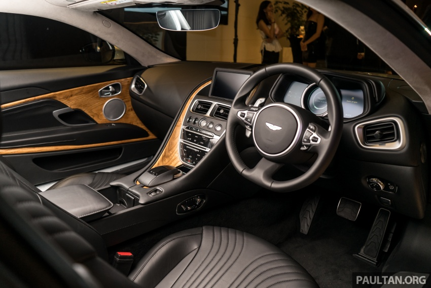 Aston Martin DB11 V8 officially launched in Malaysia – AMG-sourced engine with 510 PS, from RM1.8 million Image #805997