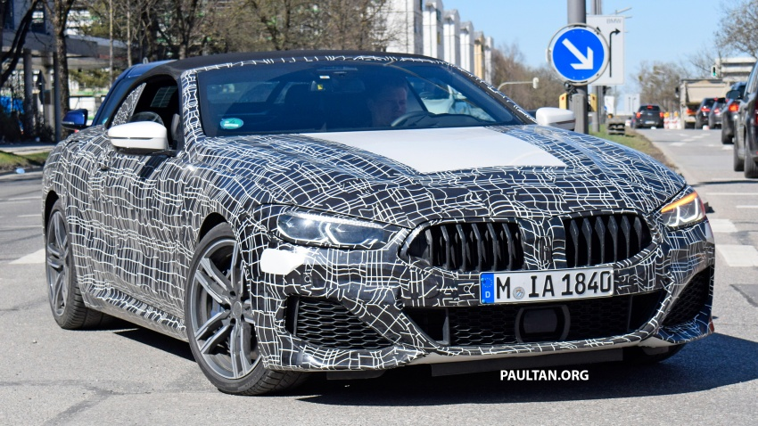 SPIED: BMW 8 Series coupé & cabrio M Sport spotted? Image #803947