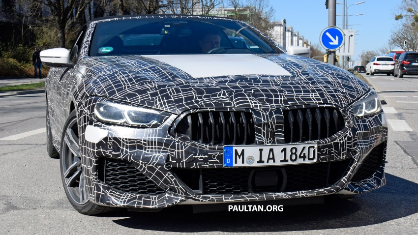 SPIED: BMW 8 Series coupé & cabrio M Sport spotted? Image #803948