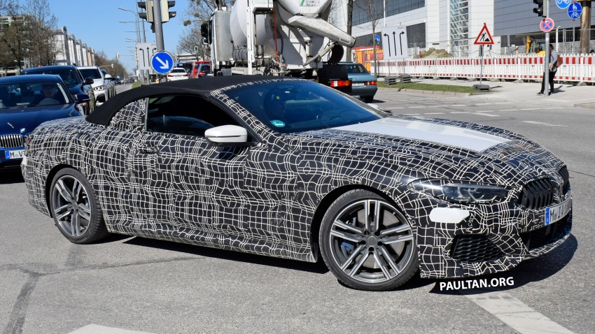 SPIED: BMW 8 Series coupé & cabrio M Sport spotted? Image #803950
