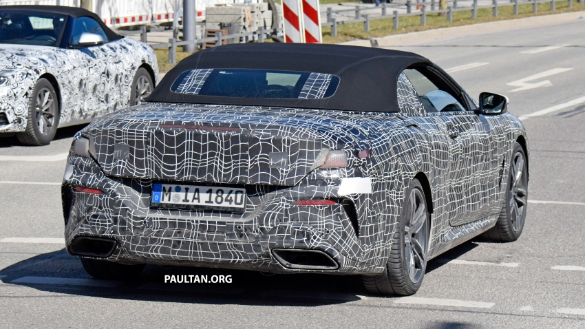 SPIED: BMW 8 Series coupé & cabrio M Sport spotted? Image #803954