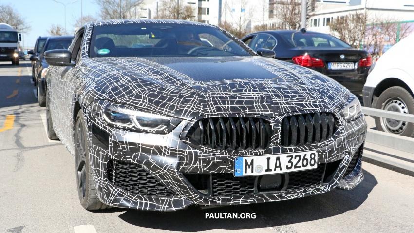 SPIED: BMW 8 Series coupé & cabrio M Sport spotted? Image #803885