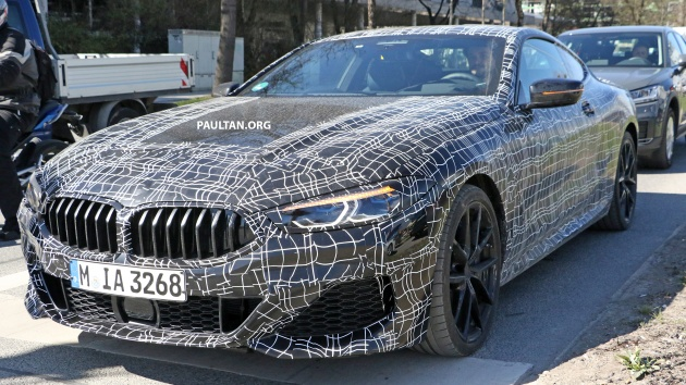 Spied Bmw 8 Series Coupe Cabrio M Sport Spotted
