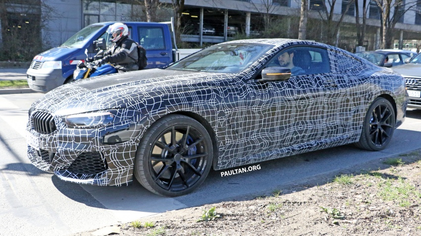 SPIED: BMW 8 Series coupé & cabrio M Sport spotted? Image #803894