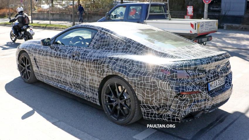 SPIED: BMW 8 Series coupé & cabrio M Sport spotted? Image #803895